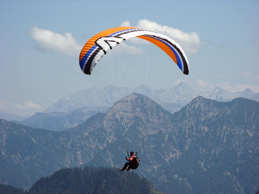 Paragliden im Chiemgau