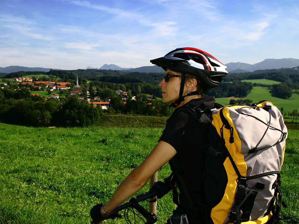 Radwandern im Chiemgau