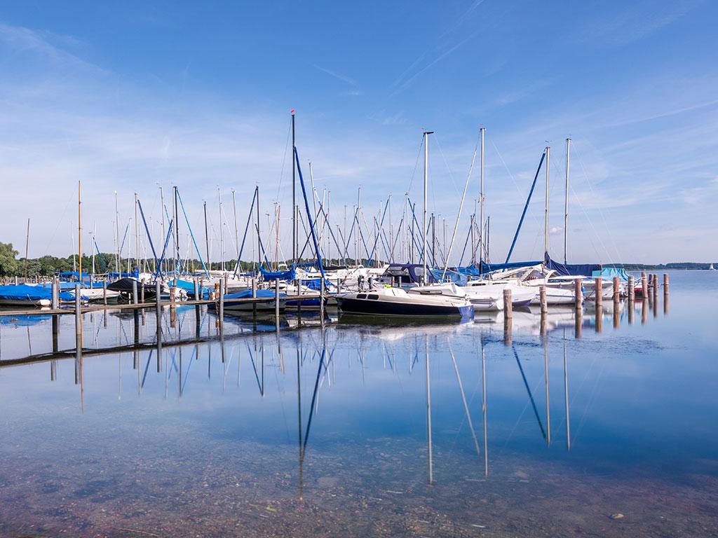 Segelhafen am Chiemsee