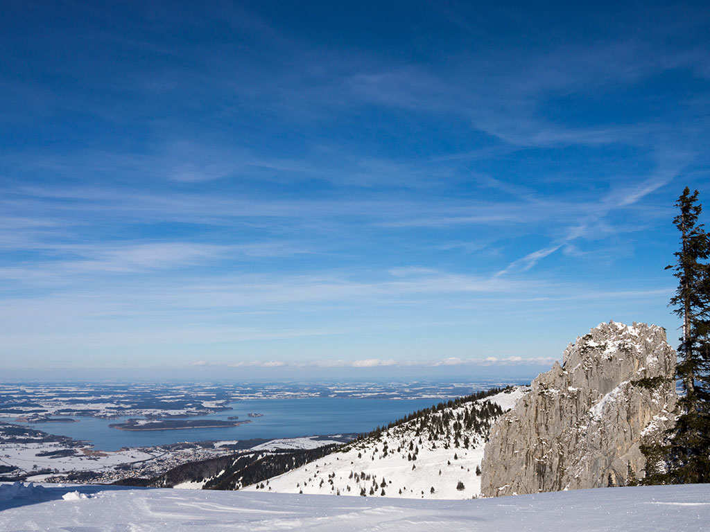 Winterurlaub Chiemgau - Kampenwand