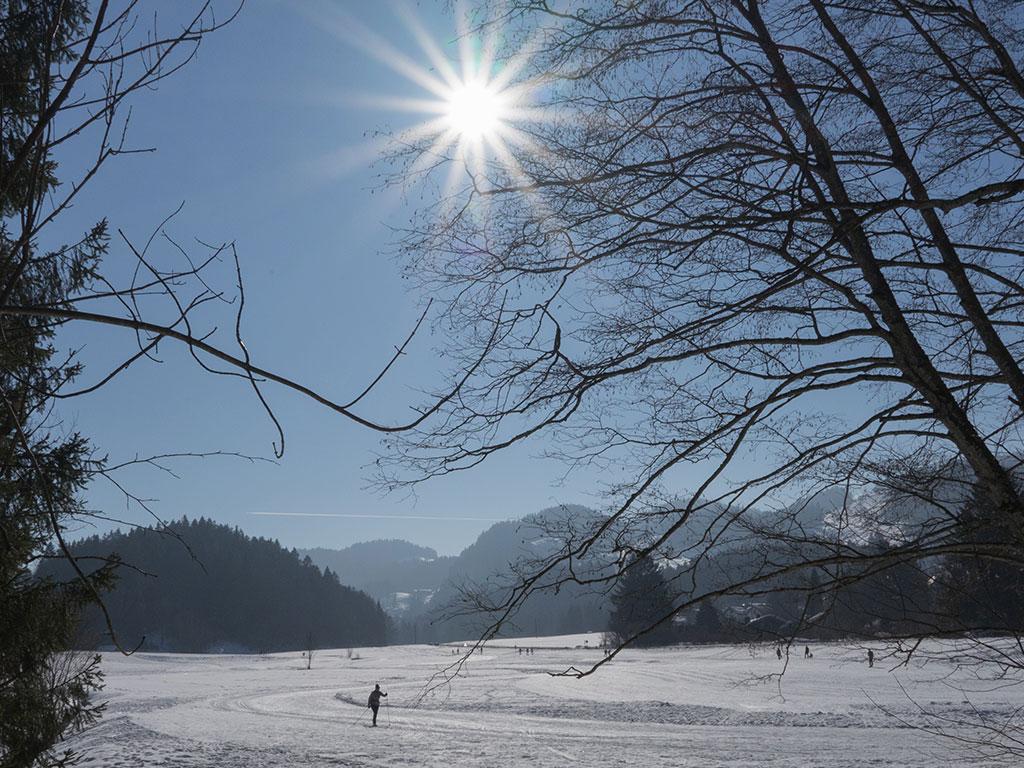 Langlaufen Chiemgau - Sachrang