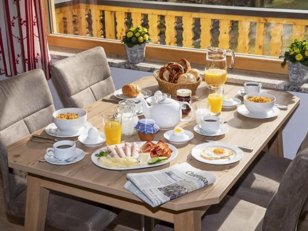 Frühstück Wohnung 4